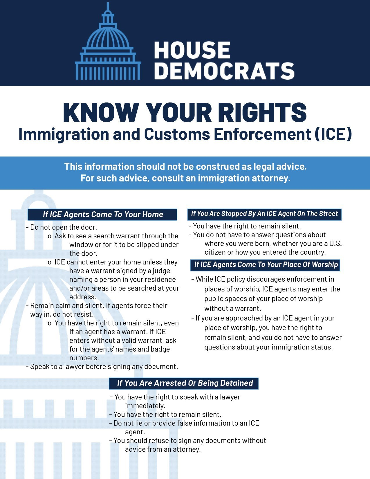 Know and Protect Your Rights